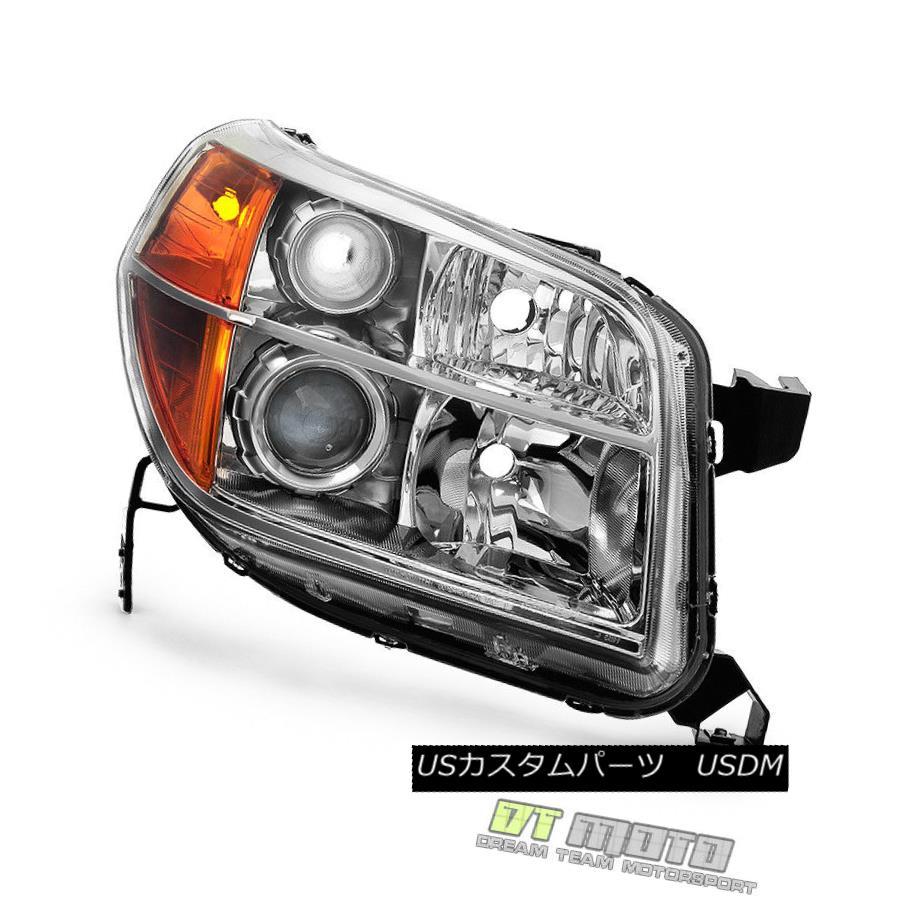 ヘッドライト For 2006-2008 Honda Pilot Replacement Headlight Headlamp 06 07 08 Passenger Side 2006 - 2008年ホンダパイロット交換ヘッドライトヘッドランプ06 07 08乗客側
