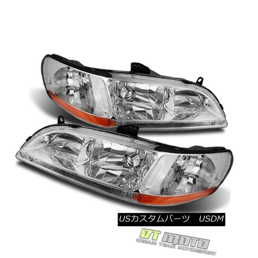 ヘッドライト For 1998-2002 Honda Accord 2/4Dr Headlights Headlamps Replacement Left+Right 1998 - 2002年ホンダアコード2 / 4Drヘッドライトヘッドランプ交換左+右