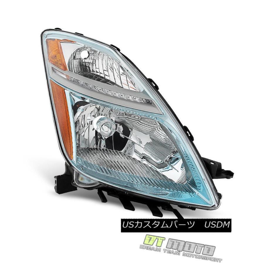 ヘッドライト 2006-2009 Toyota Prius Halogen Headlights Headlamps Replacement Passenger Side 2006-2009トヨタプリウスハロゲンヘッドライトヘッドランプ交換用乗員側