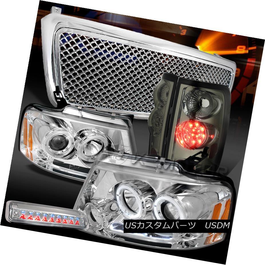 【超ポイントバック祭】 ヘッドライト 04-08 04-08 F150 ヘッドライト Chrome LED DRL Porjector Gti Headlights+Grille+Smoke LED Tail Lamps 04-08 F150クロームLED DRLプロジェクターヘッドライト+ Gti lle +スモークLEDテールランプ, 6歳までの寝具図鑑 こどものふとん:c536dab0 --- briefundpost.de