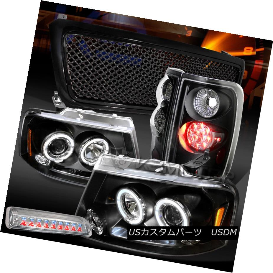 注目のブランド ヘッドライト 04-08 F150 DRL Black Halo DRL Headlights+Mesh Grille+LED 04-08 Tail Black Lamps+Clear 3rd Stop 04-08 F150ブラックHalo DRLヘッドライト+メス hグリル+ LEDテールランプ+クリア3ストップ, 双葉郡:c97ff001 --- briefundpost.de