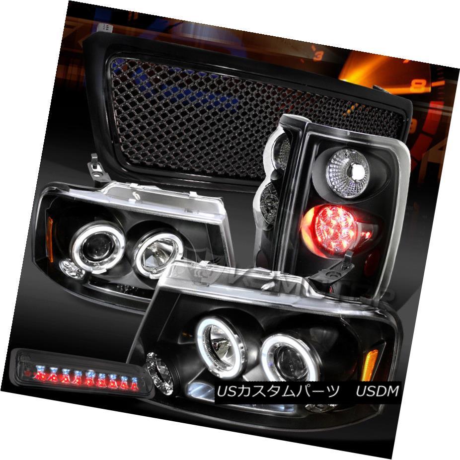 暮らし健康ネット館 ヘッドライト 04-08 F150 Black Halo Lamps+Smoke DRL Headlights+Mesh Black Grille+LED Tail F150 Lamps+Smoke 3rd Stop 04-08 F150ブラックHalo DRLヘッドライト+メス hグリル+ LEDテールランプ+スモーク3ストップ, 結婚式ワンピース専門店_OsyareiSm:afbad8df --- briefundpost.de