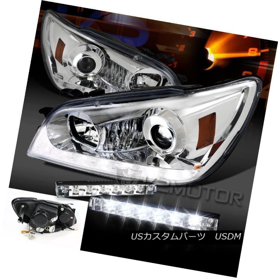 ヘッドライト 01-05 Lexus IS300 LED DRL Signal Strip Projector Headlight+6-LED Bumper DRL Lamp 01-05 Lexus IS300 LED DRLシグナルストリッププロジェクターヘッドライト+ 6-LE DバンパーDRLランプ