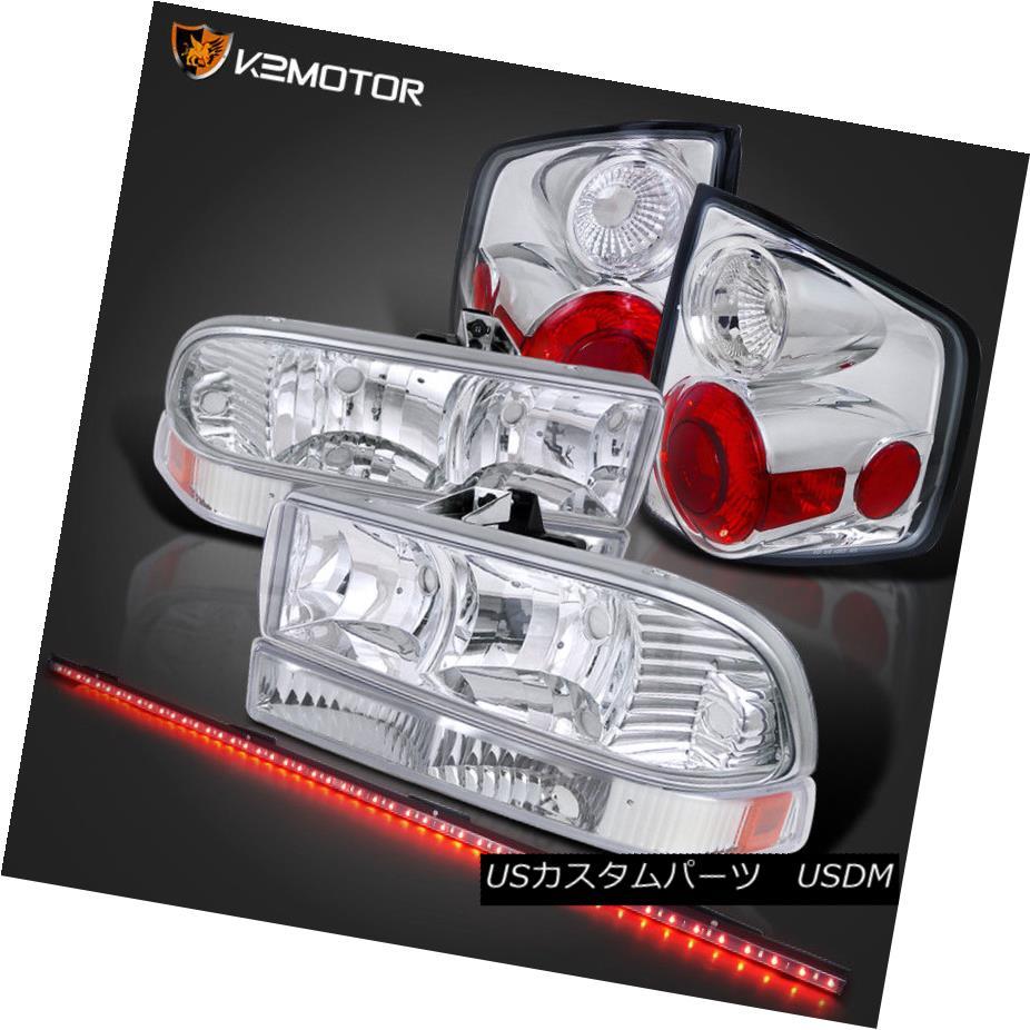 ヘッドライト 98-04 S10 Headlights Bumper Lamp+Tail Brake Light w/ 49