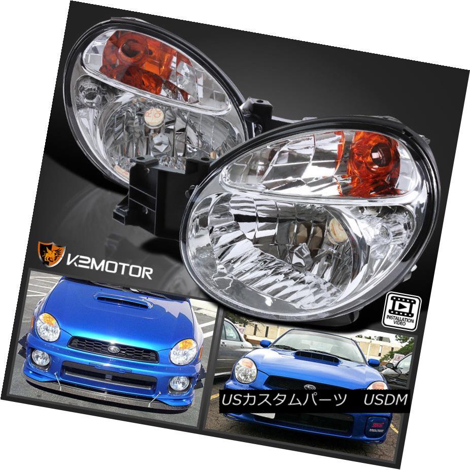 Headlight Headlamp Driver Side Left LH NEW for 02-03 Impreza Outback WRX