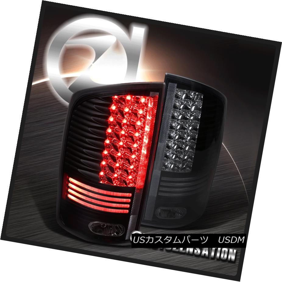 ヘッドライト 2002-2006 Dodge Ram Truck 1500 2500 3500 LED Tail Lights Black Clear 2002-2006 Dodge Ram Truck 1500 2500 3500 LEDテールライトブラッククリア