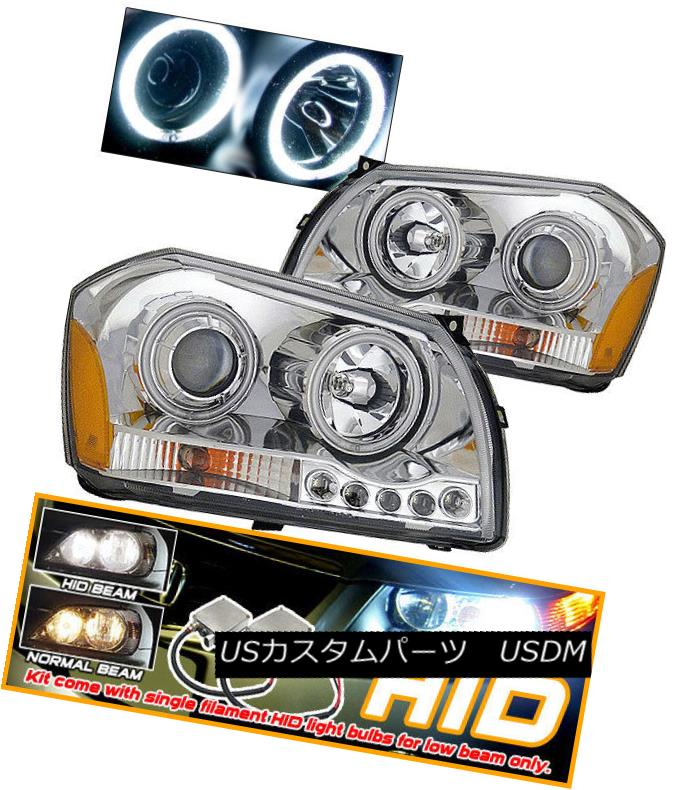ヘッドライト Fits Xenon 05-07 Dodge Magnum CCFL Halo Projector Headlights Xenon 05-07 Dodge Magnum CCFL Haloプロジェクターヘッドライトに適合