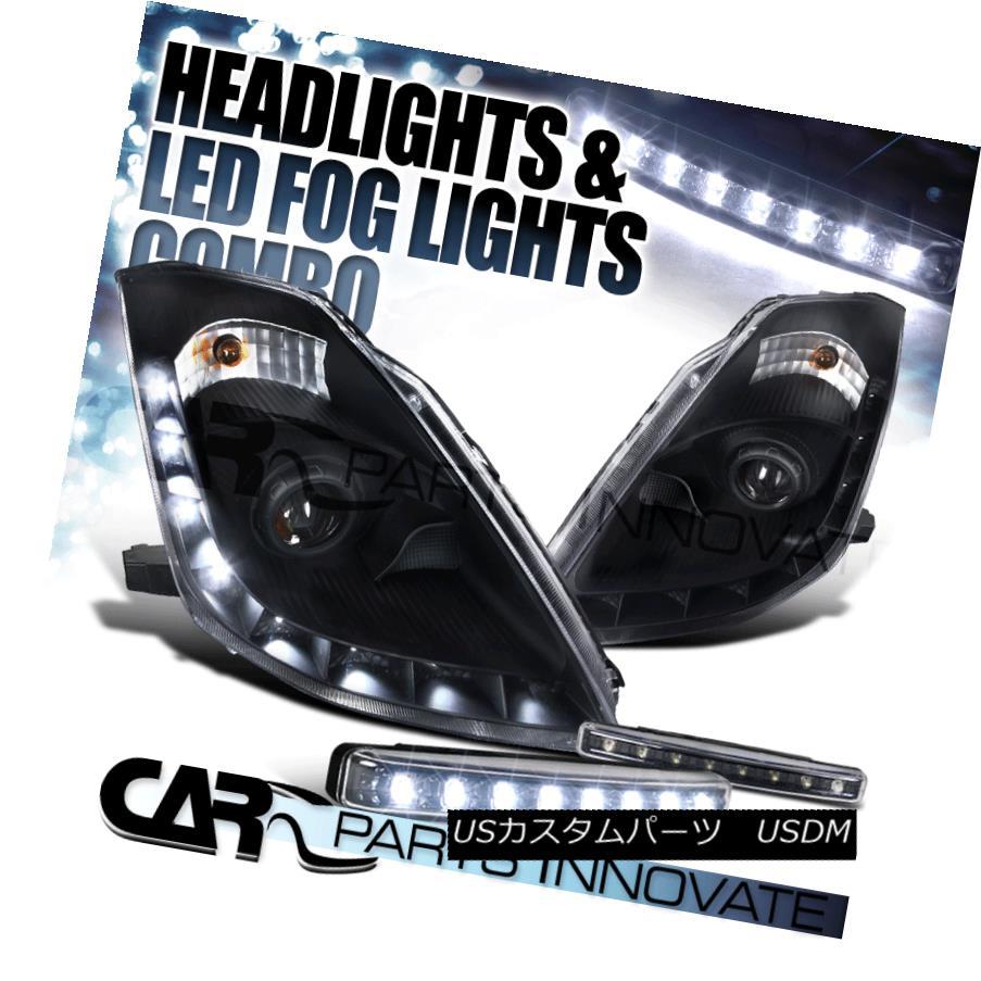 ヘッドライト Fit 06-09 350Z Z33 Fairlady Black