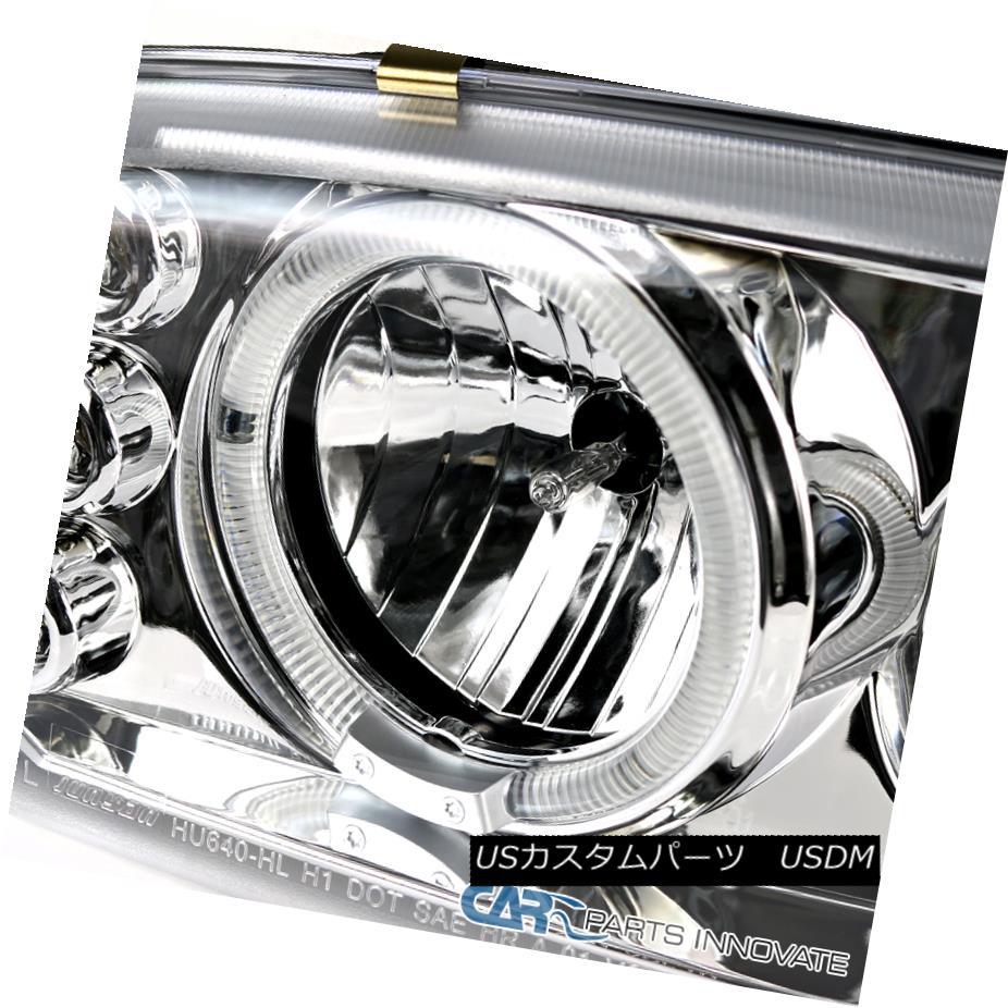 Carpartsinnovate For 99-06 GMC Sierra Yukon XL Clear Bumper Signal Parking Lights Driving Lamps Pair
