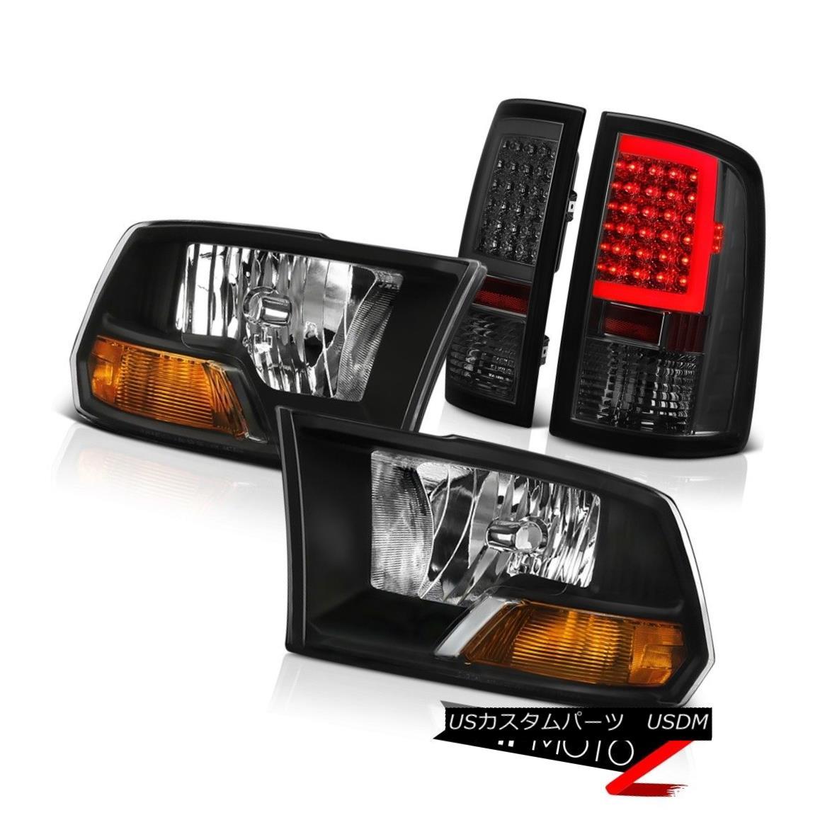 ヘッドライト 2010-2018 Dodge RAM 1500 3500 Tail Light Infinity Black Factory Style Headlight 2010-2018 Dodge RAM 1500 3500テールライトインフィニティブラックファクトリースタイルヘッドライト
