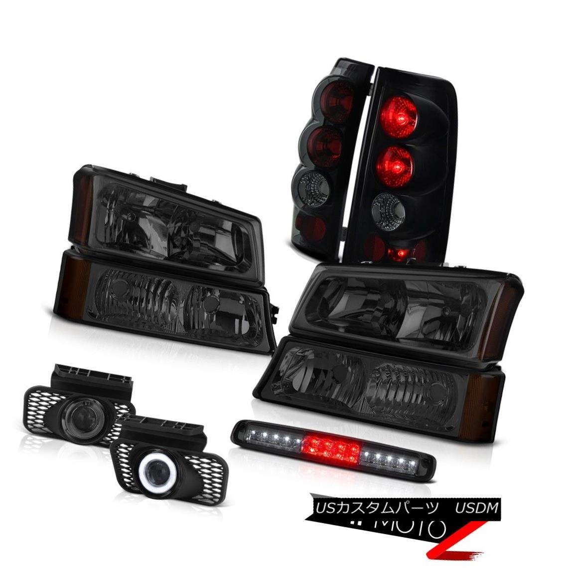 ヘッドライト 03 04 05 06 Silverado 1500 Parking Light Roof Cab Headlamps Foglights Tail Lamps 03 04 05 06 Silverado 1500駐車ライトライトルーフキャブヘッドランプフォグライトテールランプ