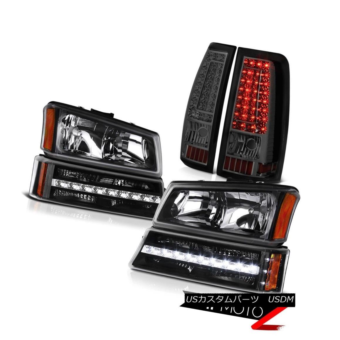 ヘッドライト 03 04 05 06 Silverado Tail Brake Lamps Nighthawk Black Bumper Lamp Headlights 03 04 05 06 Silveradoテールブレーキランプナイトホークブラックバンパーランプヘッドライト