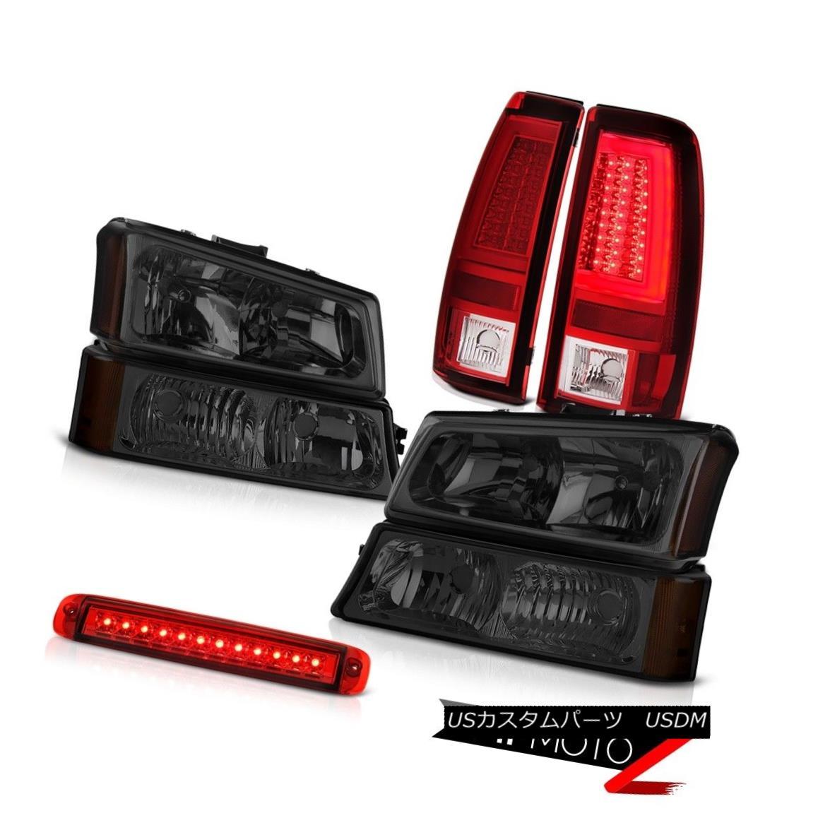 ヘッドライト 03-06 Chevy Silverado Taillights High Stop Light Signal Headlamps