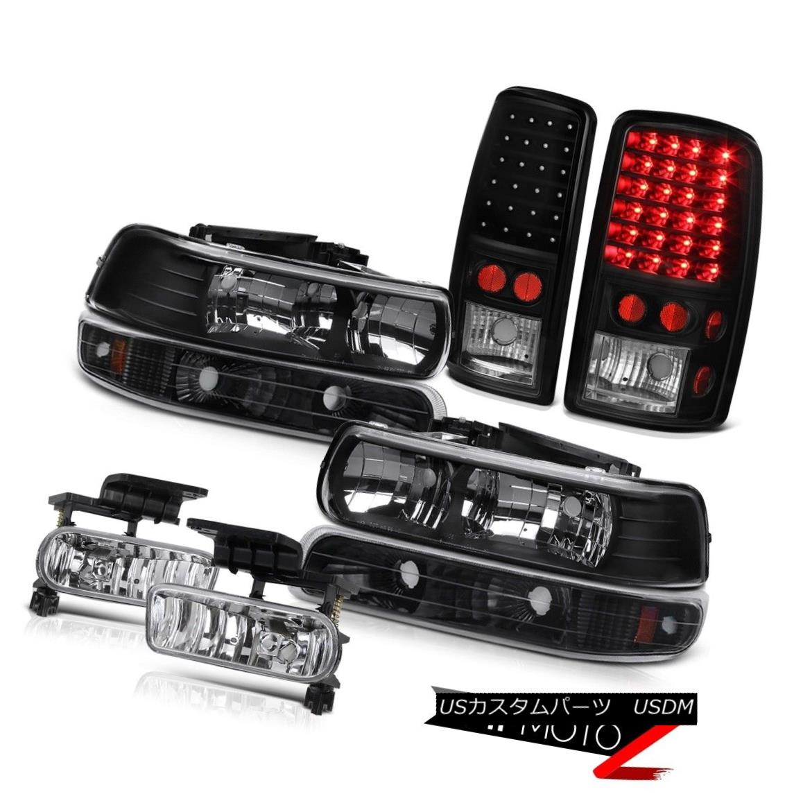 ヘッドライト Headlights Turn Signal LED Taillights Chrome Fog 00 01 02 03 04 05 06 Tahoe LT ヘッドライトターンシグナルLEDテールライトChrome Fog 00 01 02 03 04 05 06 Tahoe LT
