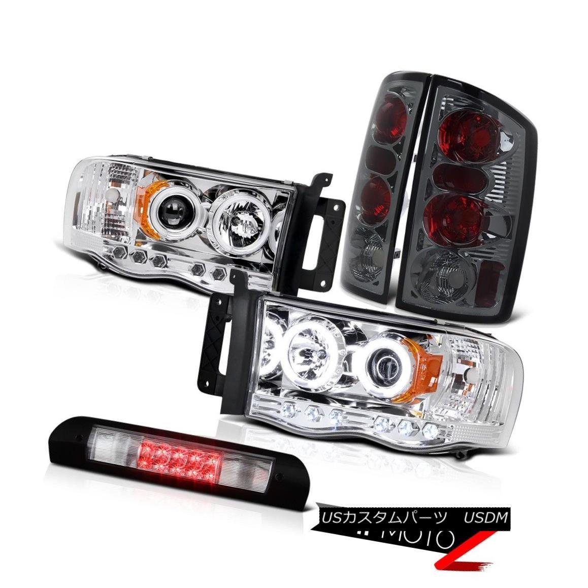 ヘッドライト C.C.F.L Headlights Tinted Brake Tail Light Roof Stop LED 02 03 04 05 Dodge Ram C.C.F.Lヘッドライト着色ブレーキテールライトルーフストップLED 02 03 04 05 Dodge Ram