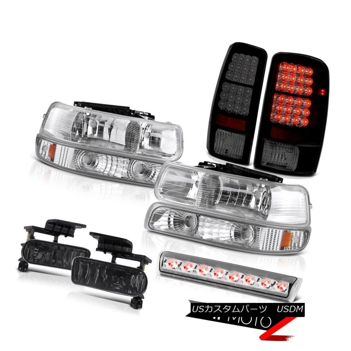 ヘッドライト 2000-2006 Suburban 2500 Z71 Headlamps taillamps smokey foglamps 3rd brake lamp 2000-2006郊外2500 Z71ヘッドランプテールランプスモーキーフォグランプ第3ブレーキランプ