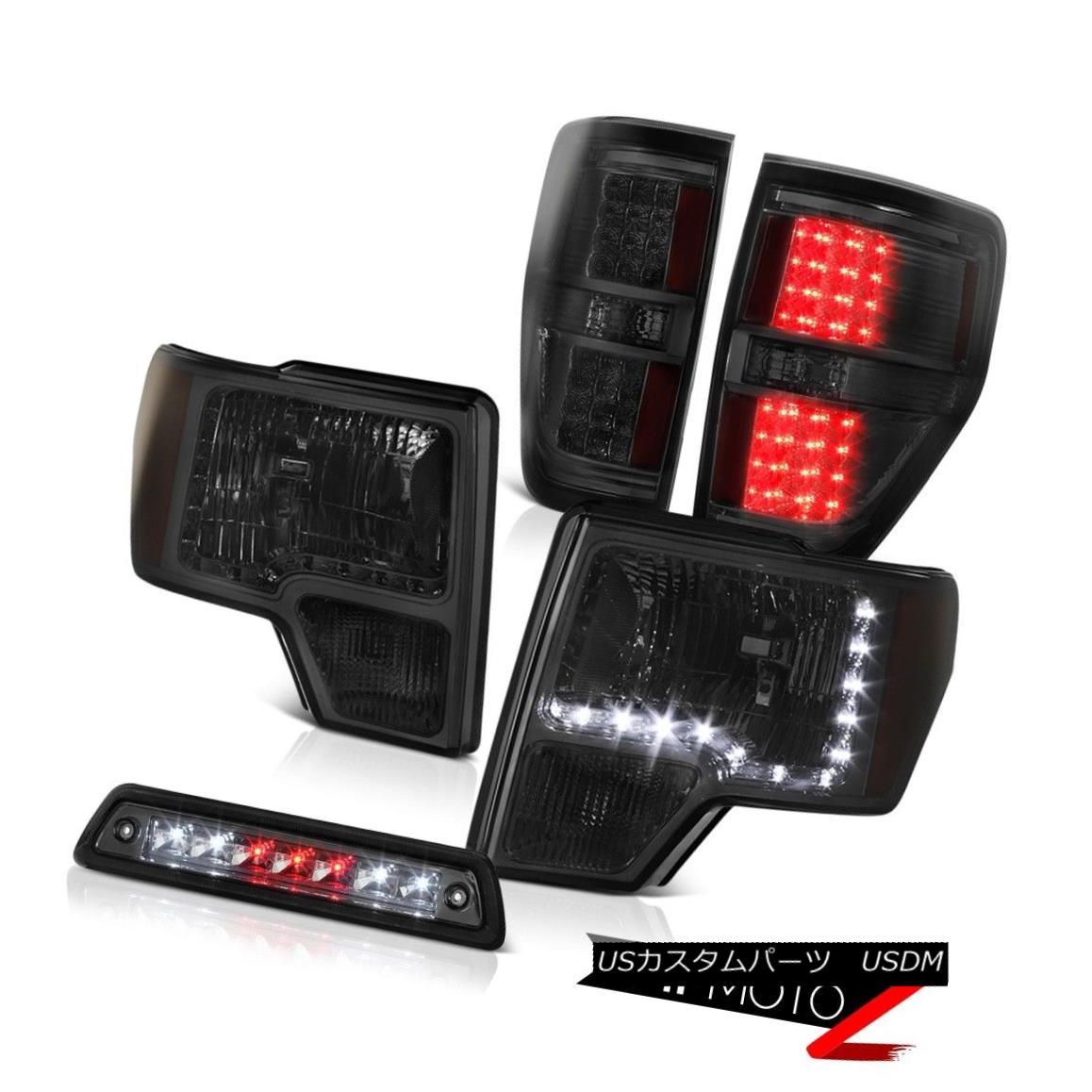 ヘッドライト 09-14 F150 FX2 3rd brake light parking lights headlamps led DRL