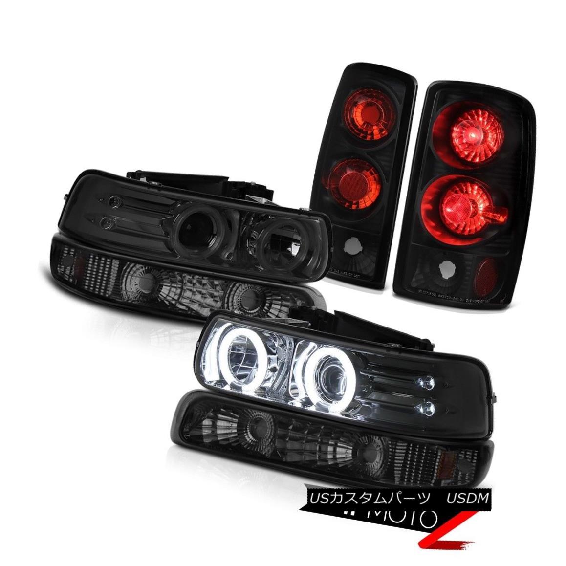 ヘッドライト CCFL Tech Projector Headlights Turn Signal Rear Brake Light 04 05 06 Suburban LS CCFLテックプロジェクターヘッドライトターンシグナルリアブレーキライト04 05 06郊外LS