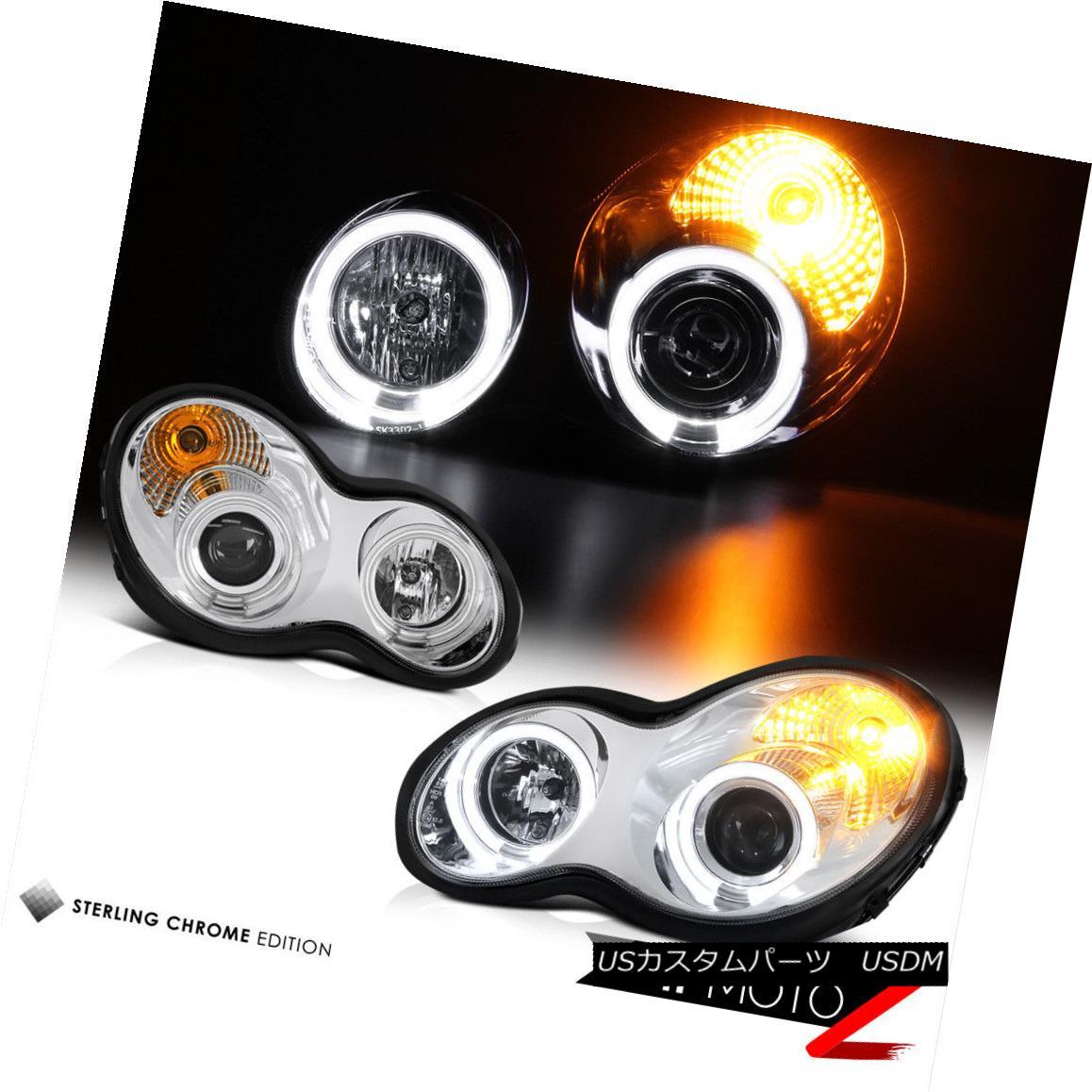 ヘッドライト 2001-2007 MB C-CLASS W203 Angel Eye [CCFL ANGEL EYE] Projector Headlights Lamps 2001-2007 MB C-CLASS W203 Angel Eye [CCFL ANGEL EYE]プロジェクターヘッドライトランプ