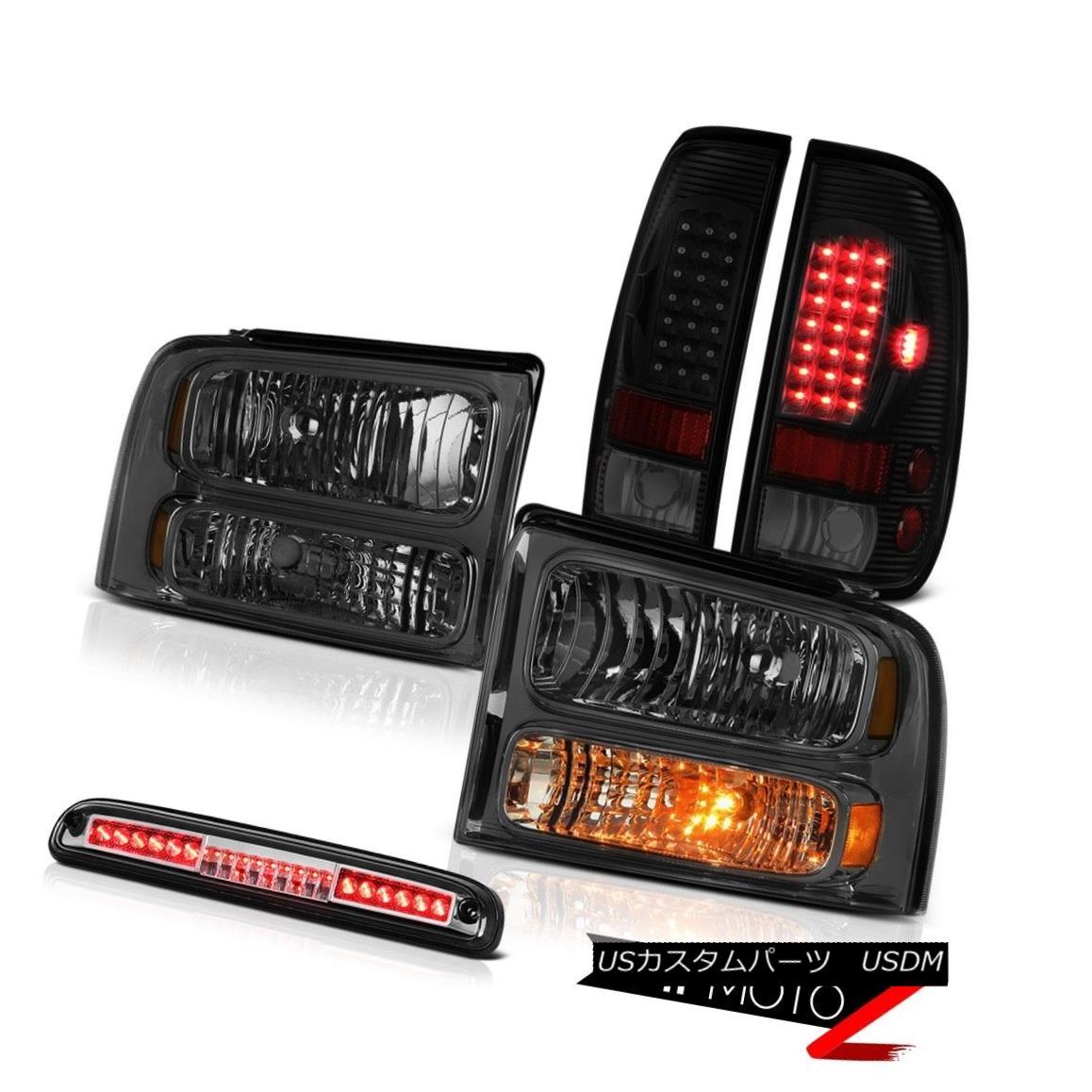 ヘッドライト 2005-2007 F250 6.8L Headlights Tail Lights Chrome Roof Cab Light LED Assembly 2005-2007 F250 6.8Lヘッドライトテールライトクローム屋根キャブライトLEDアセンブリ