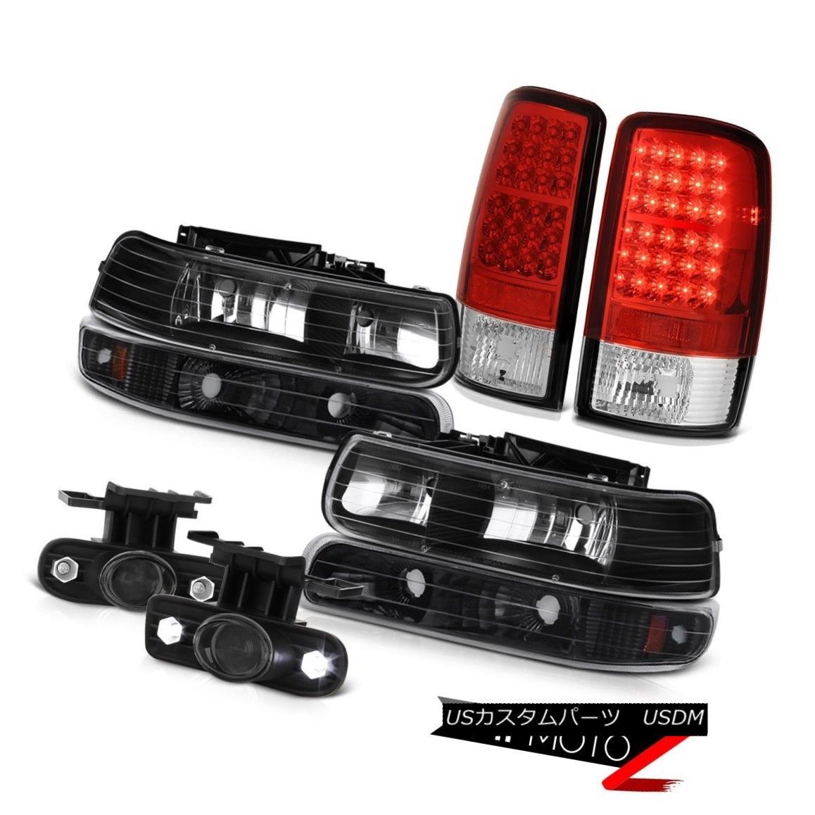 ヘッドライト 00 01 02 03 04 05 06 Suburban 1500 Diamond Headlight Brake Tail Lights LED Fog 00 01 02 03 04 05 06郊外1500ダイヤモンドヘッドライトブレーキテールライトLEDフォグ