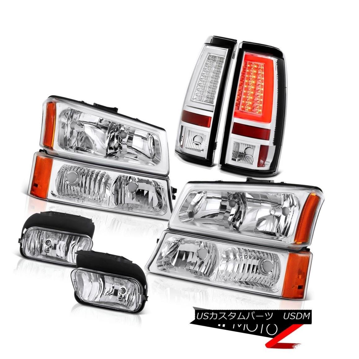ヘッドライト 2003-2006 Silverado Rear Brake Lamps Headlamps Foglamps OLED Neon Tube Oe Style 2003-2006 SilveradoリアブレーキランプヘッドランプフォグランプOLEDネオンチューブOeスタイル