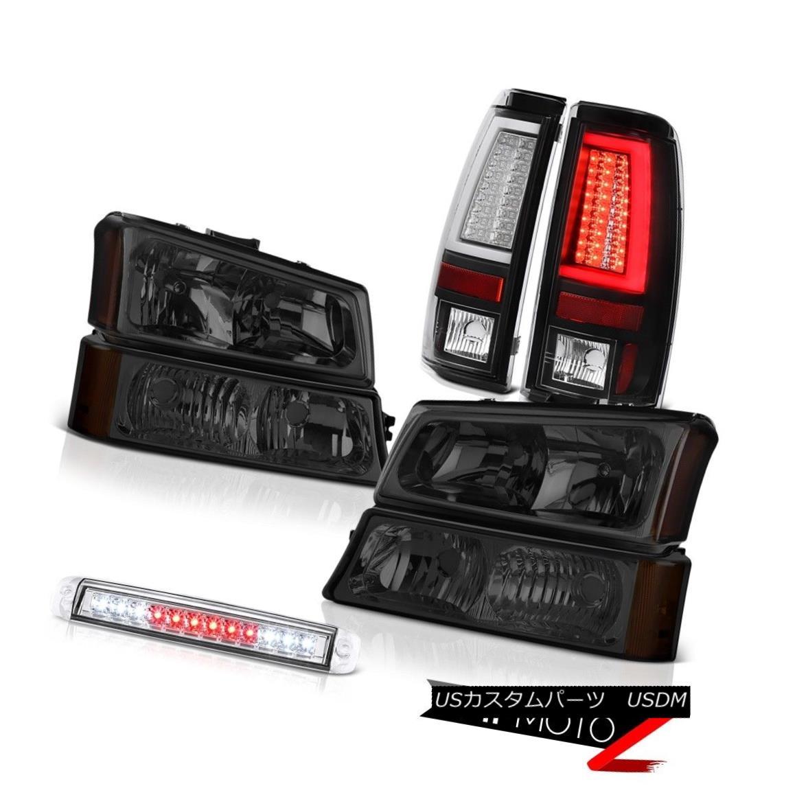 ヘッドライト 03-06 Silverado 2500Hd Rear Brake Lamps High Stop Light Headlights OLED Prism 03-06 Silverado 2500HdリアブレーキランプハイストップライトヘッドライトOLEDプリズム
