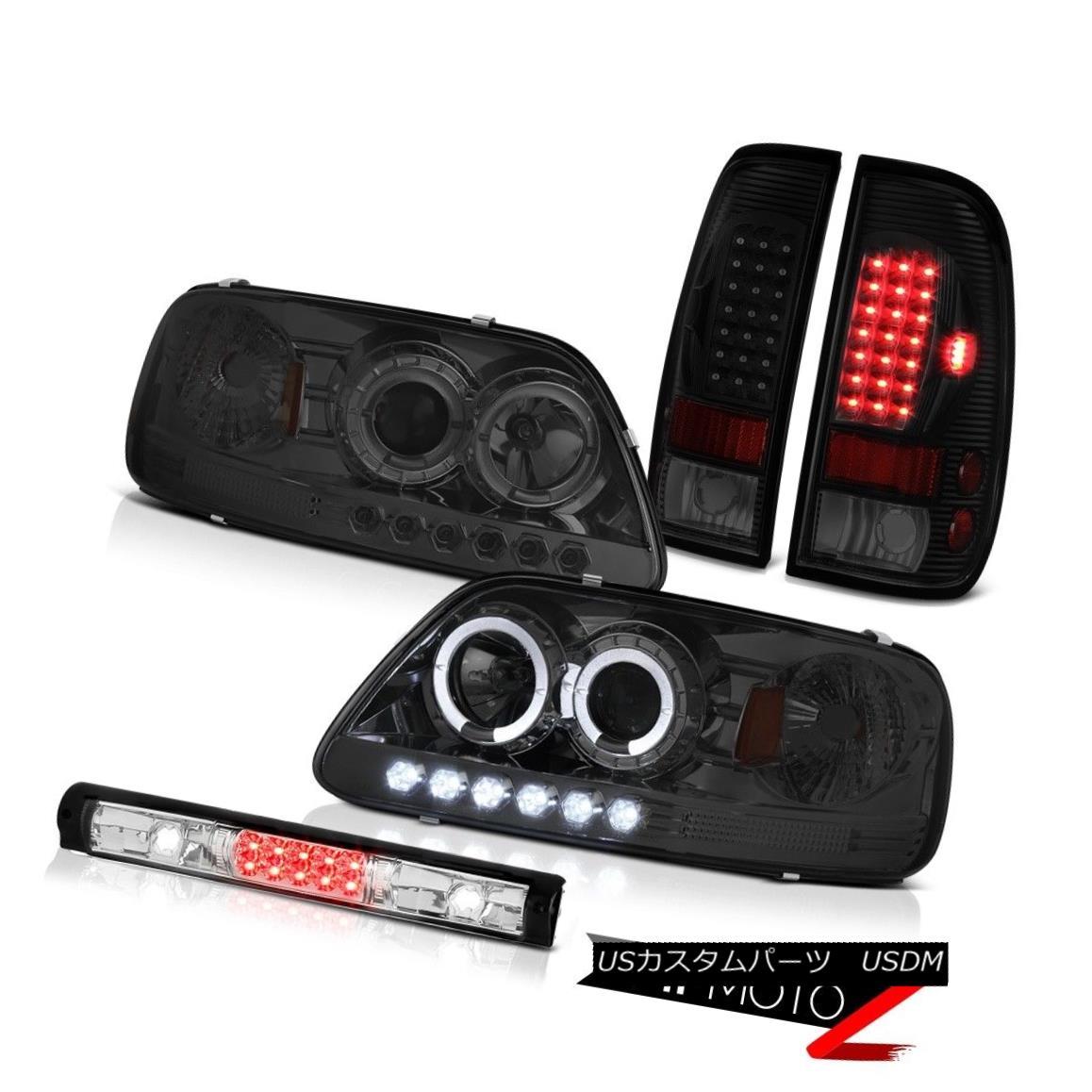 ヘッドライト 97 98 99 00 01 02 03 F150 Xl Roof Brake Light Taillights Dark Smoke Headlamps 97 98 99 00 01 02 03 F150 X1ルーフブレーキライトテールライトダークスモークヘッドランプ