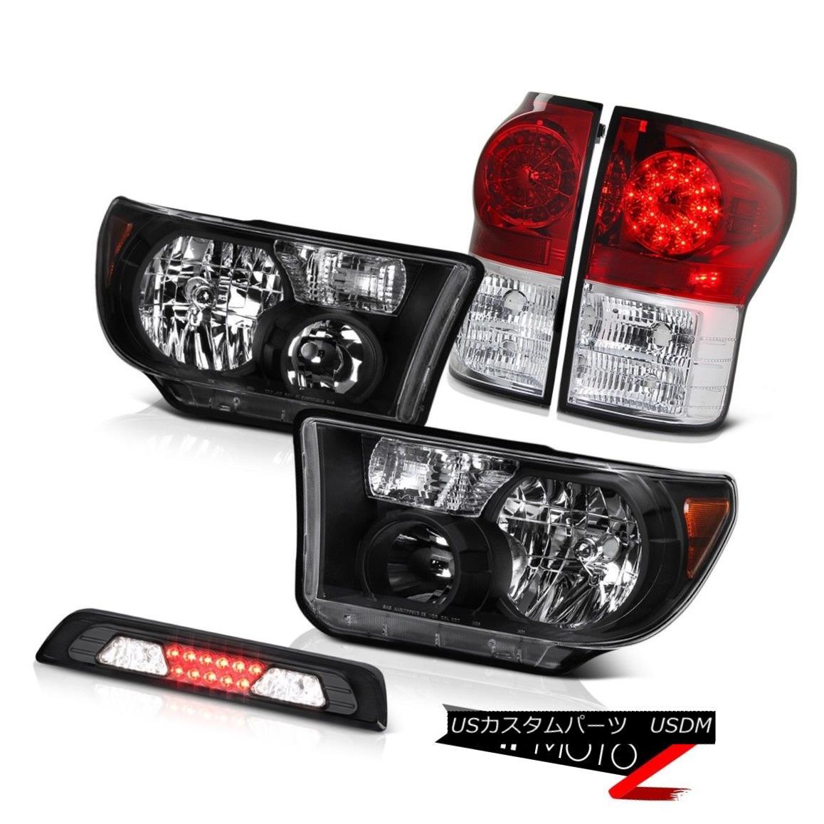 ヘッドライト 07-13 Toyota Tundra Limited Headlights 3RD Brake Light Taillights SMD Assembly 07-13 Toyota Tundra Limitedヘッドライト3RDブレーキライトテールライトSMDアセンブリ