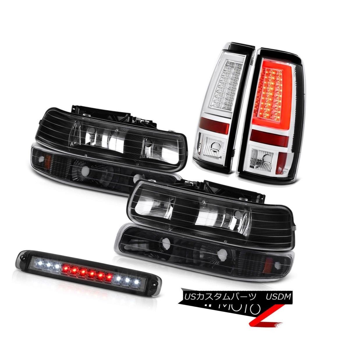 ヘッドライト 99-02 Silverado Z71 Tail Brake Lamps Roof Cab Lamp Fog Turn Signal