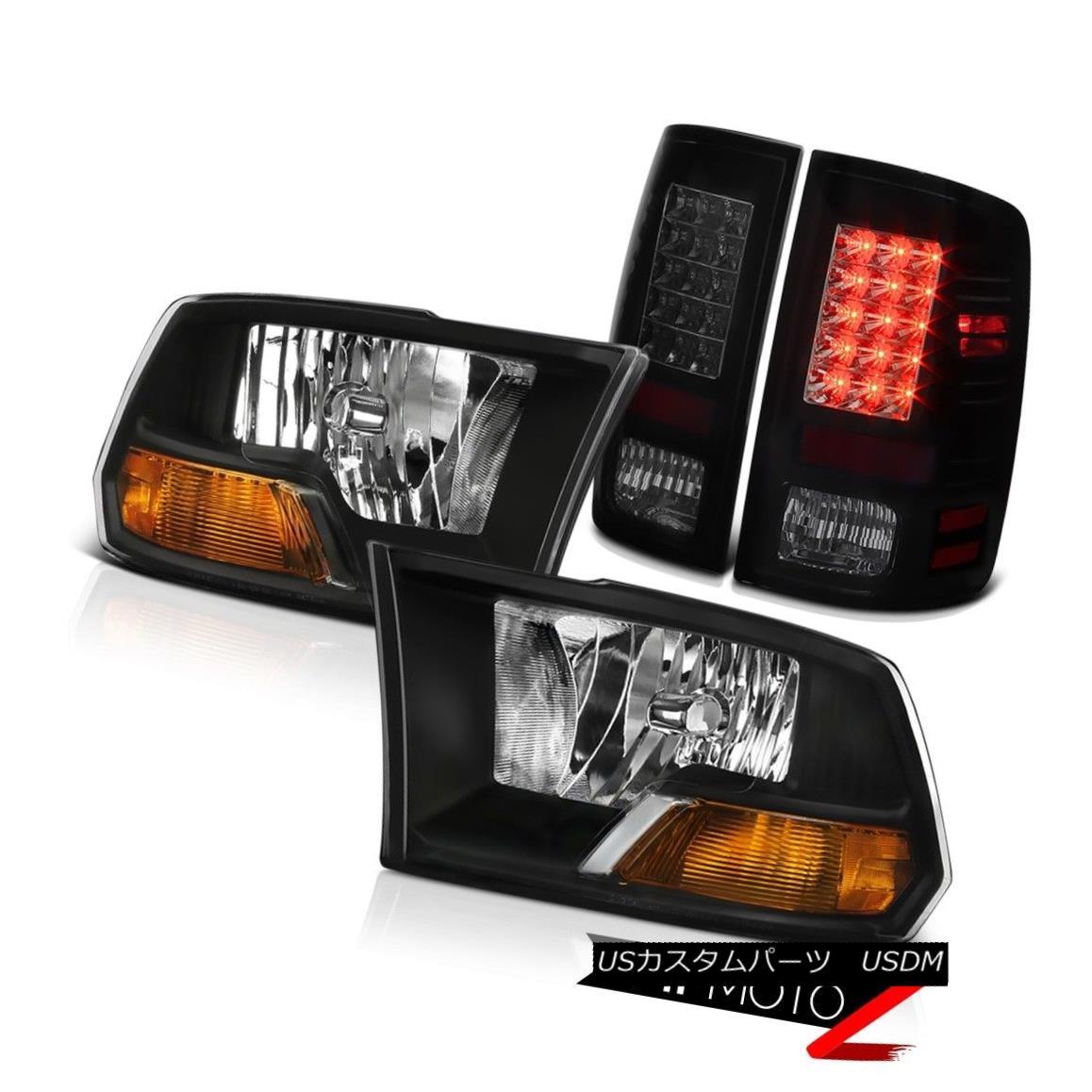 ヘッドライト SINISTER BLACK LED Tail Lights+Headlights LH+RH 2009-2018 2013 2012 2011 2010 SINISTER BLACK LEDテールライト+ヘッドランプ hts LH + RH 2009-2018 2013 2012 2011 2010