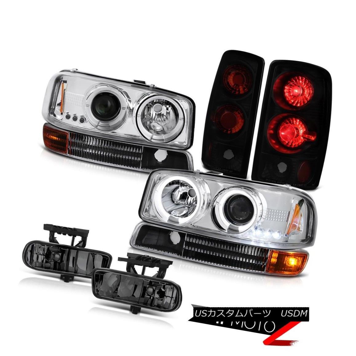 ヘッドライト Chrome Halo LED Headlights Signal Tail Light FogLight 00 01 02 03 04 05 06 Yukon クロムハローLEDヘッドライト信号テールライトFogLight 00 01 02 03 04 05 06ユーコン