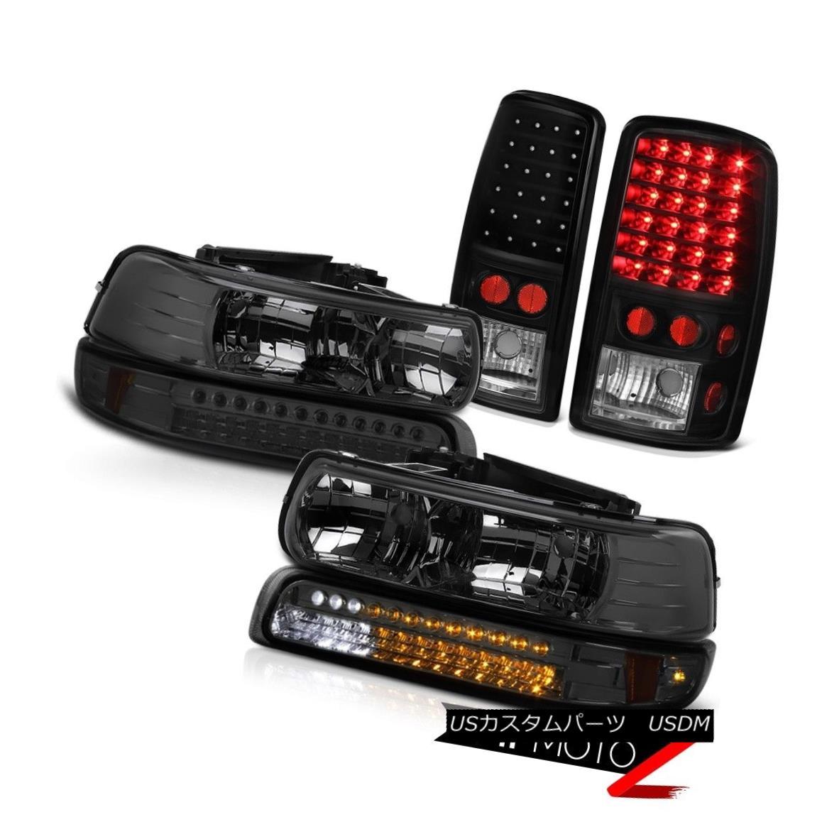 ヘッドライト 00 01 02 03 04 05 06 Suburban 8.1L Crystal Headlight Bumper Tail Lights Assembly 00 01 02 03 04 05 06郊外8.1Lクリスタルヘッドライトバンパーテールライトアセンブリ