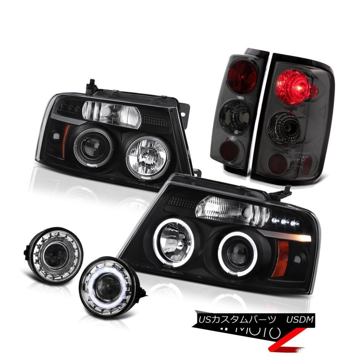 ヘッドライト 2006-2008 Ford F150 XLT Chrome Foglights Headlights Tail Lamps Projector Euro 2006-2008 Ford F150 XLT Chrome Foglightsヘッドライトテールランププロジェクターユーロ