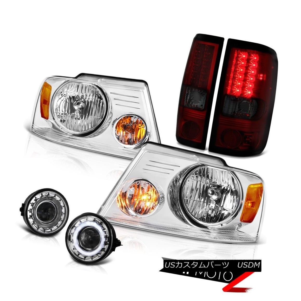 ヘッドライト 06 07 08 Ford F150 FX4 Fog Lamps Headlamps Taillamps Projector