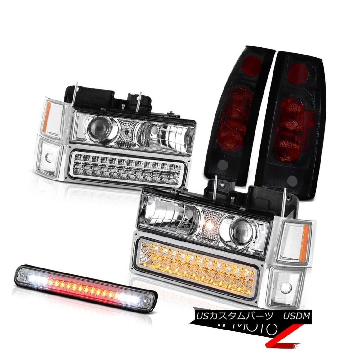 ヘッドライト Headlight Bumper Parking Signal Corner Tail Light 3rd Brake LED 94-98 Cheyenne ヘッドライトバンパー駐車場信号コーナーテールライト第3ブレーキLED 94-98シャイアン