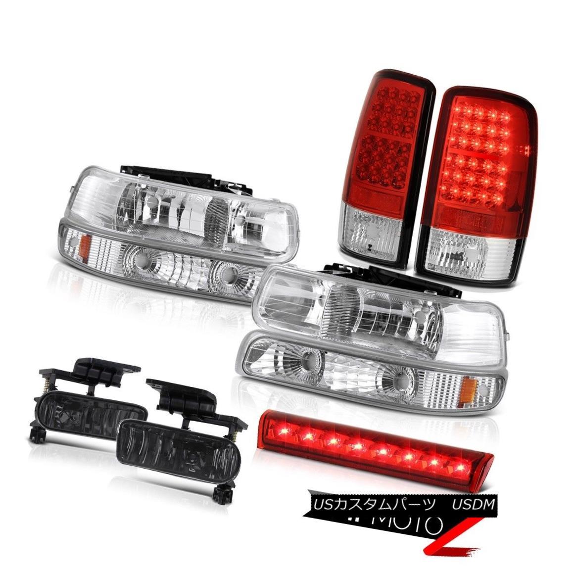 ヘッドライト 2000-2006 Tahoe LS Third brake lamp foglights tail lights headlights OE Style 2000-2006タホLS第3ブレーキランプフォグライトテールライトヘッドライトOEスタイル