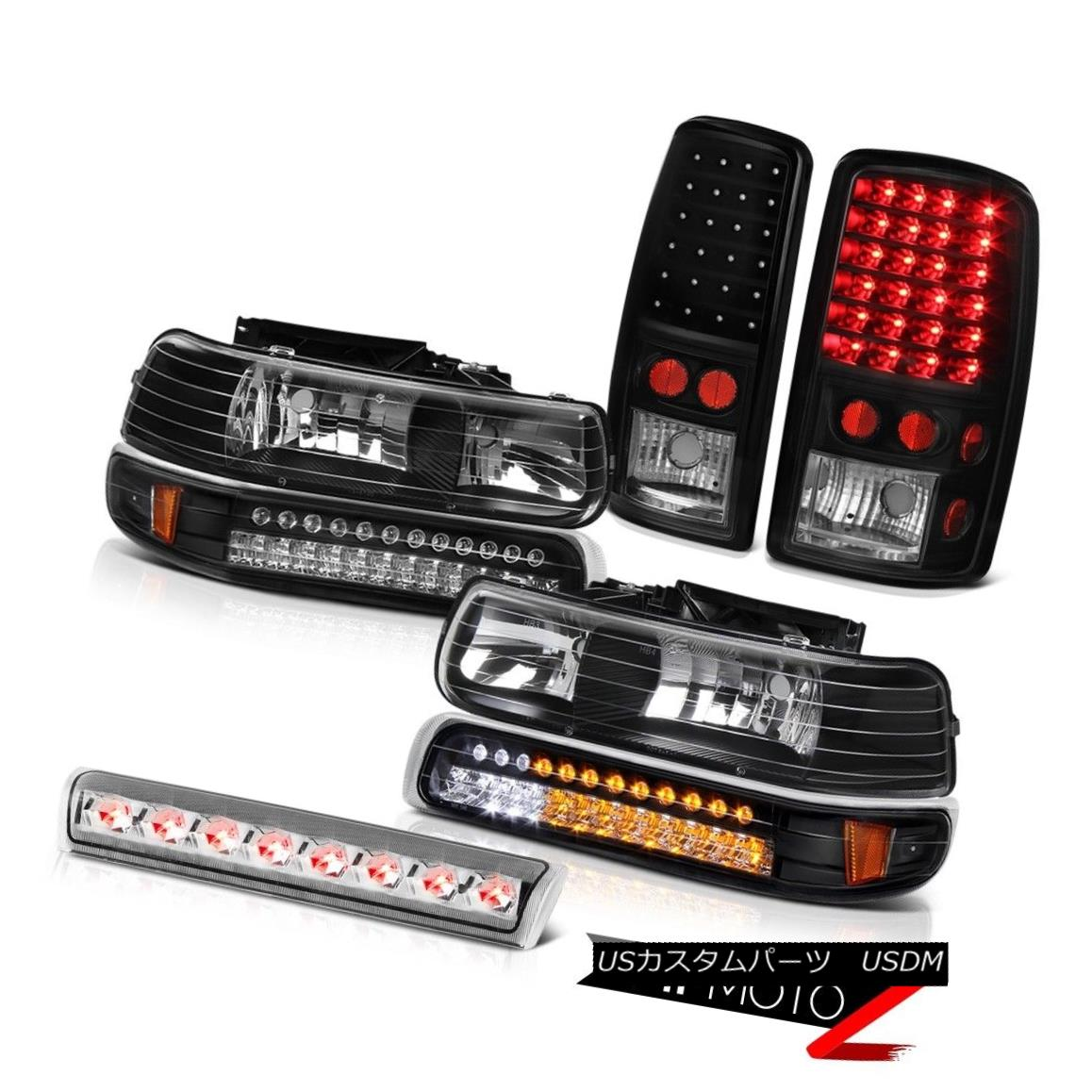 ヘッドライト 00-06 Suburban Z71 LED Bumper+Headlights L.E.D Rear Tail Lights Roof Brake Cargo 00-06郊外Z71 LEDバンパー+ヘッドリグ hts L.E.Dリアテールライトルーフブレーキカーゴ