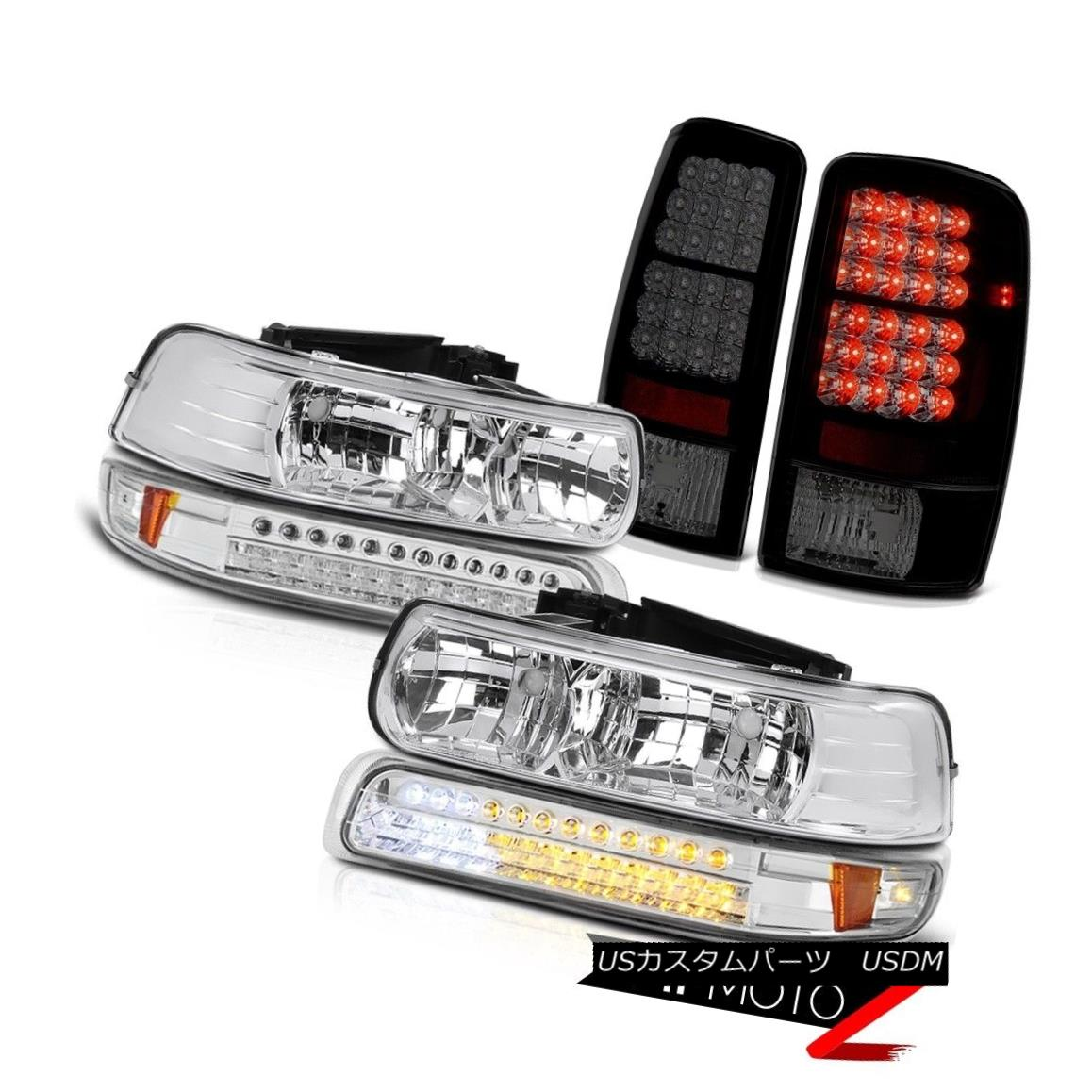 ヘッドライト Left Right Headlamps LED Bumper Philip SuperFlux LED Taillights 00-06 Tahoe LT 左のライトヘッドランプLEDバンパーPhilip SuperFlux LEDテールライト00-06 Tahoe LT