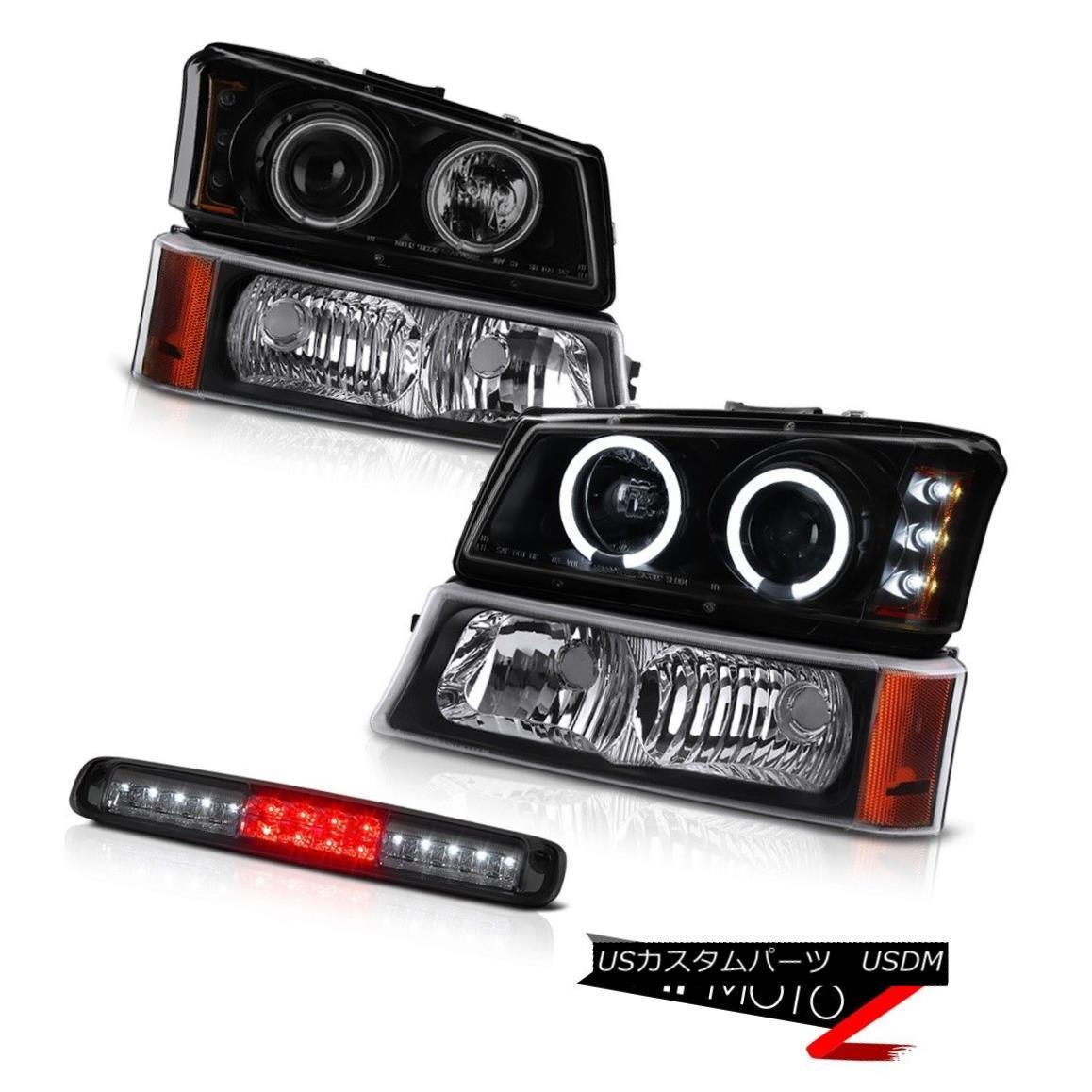 ヘッドライト 03-06 Silverado 2500Hd Smoked Roof Cab Light Nighthawk Black Signal Headlamps 03-06 Silverado 2500Hdスモークルーフキャブライトナイトホークブラックシグナルヘッドランプ