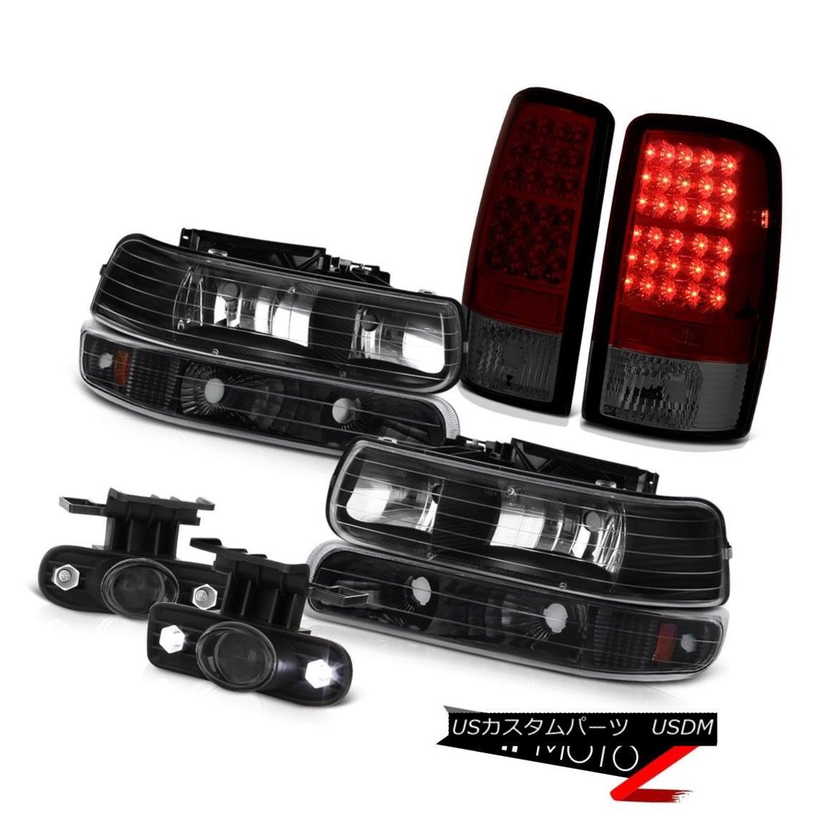 ヘッドライト 00-06 Tahoe 5.3L Left Right Headlamps Turn Signal LED Taillights Projector Fog 00-06タホー5.3L左ライトヘッドランプターンシグナルLEDターンライトプロジェクターフォグ