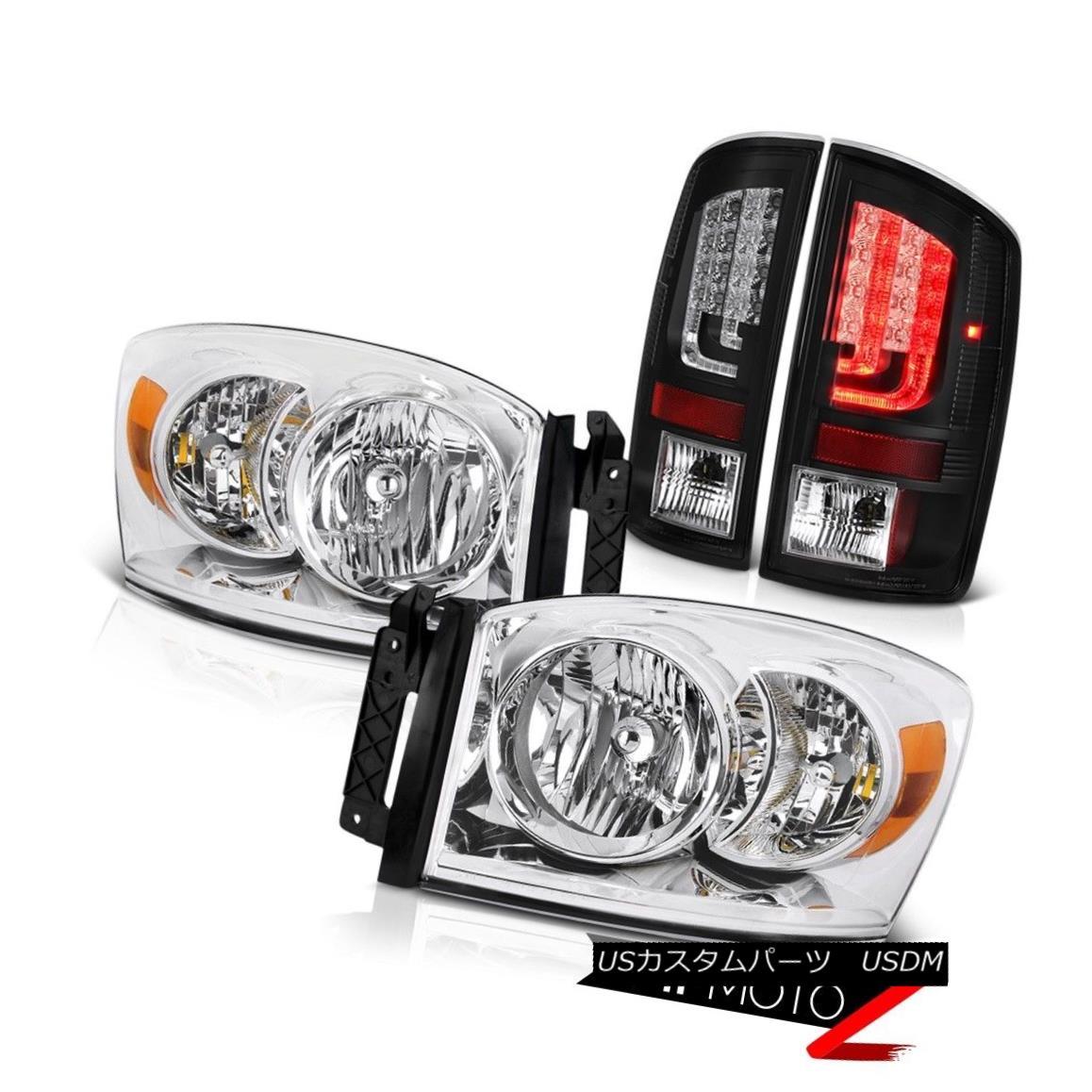 ヘッドライト 2007-2009 Dodge Ram 2500 WS Taillamps Headlamps OLED Prism Light Bar Assembly 2007-2009 Dodge Ram 2500 WSタイルランプヘッドランプOLEDプリズムライトバーアセンブリ
