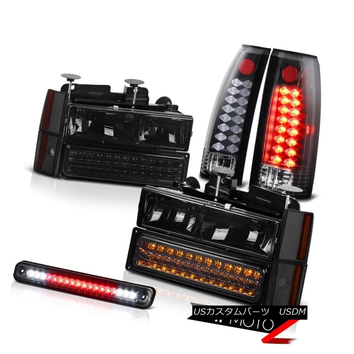 ヘッドライト LED Third Brake+Smoke Tail Lights+Corner Parking+Bumper Headlights Lamps PAIR LED第3ブレーキ+煙テールライト+コーナーパーキング+バンパーヘッドライトランプペア