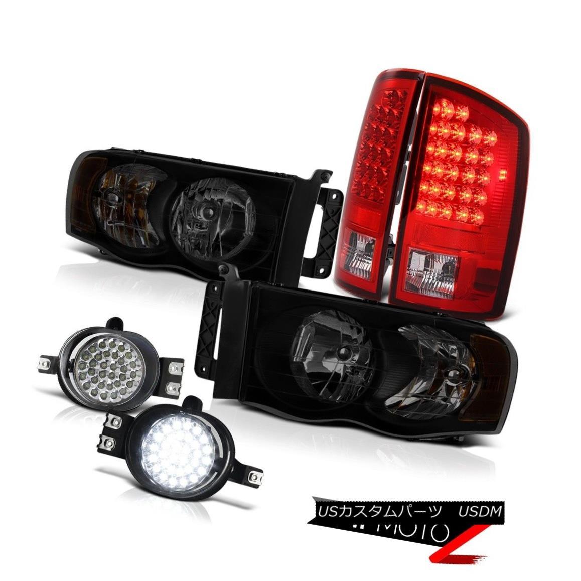 ヘッドライト 2003-2005 Dodge Ram 2500 5.7L Headlights Crystal Clear Foglamps Red Taillights 2003-2005 Dodge Ram 2500 5.7Lヘッドライトクリスタルクリアフォグランプレッドティール