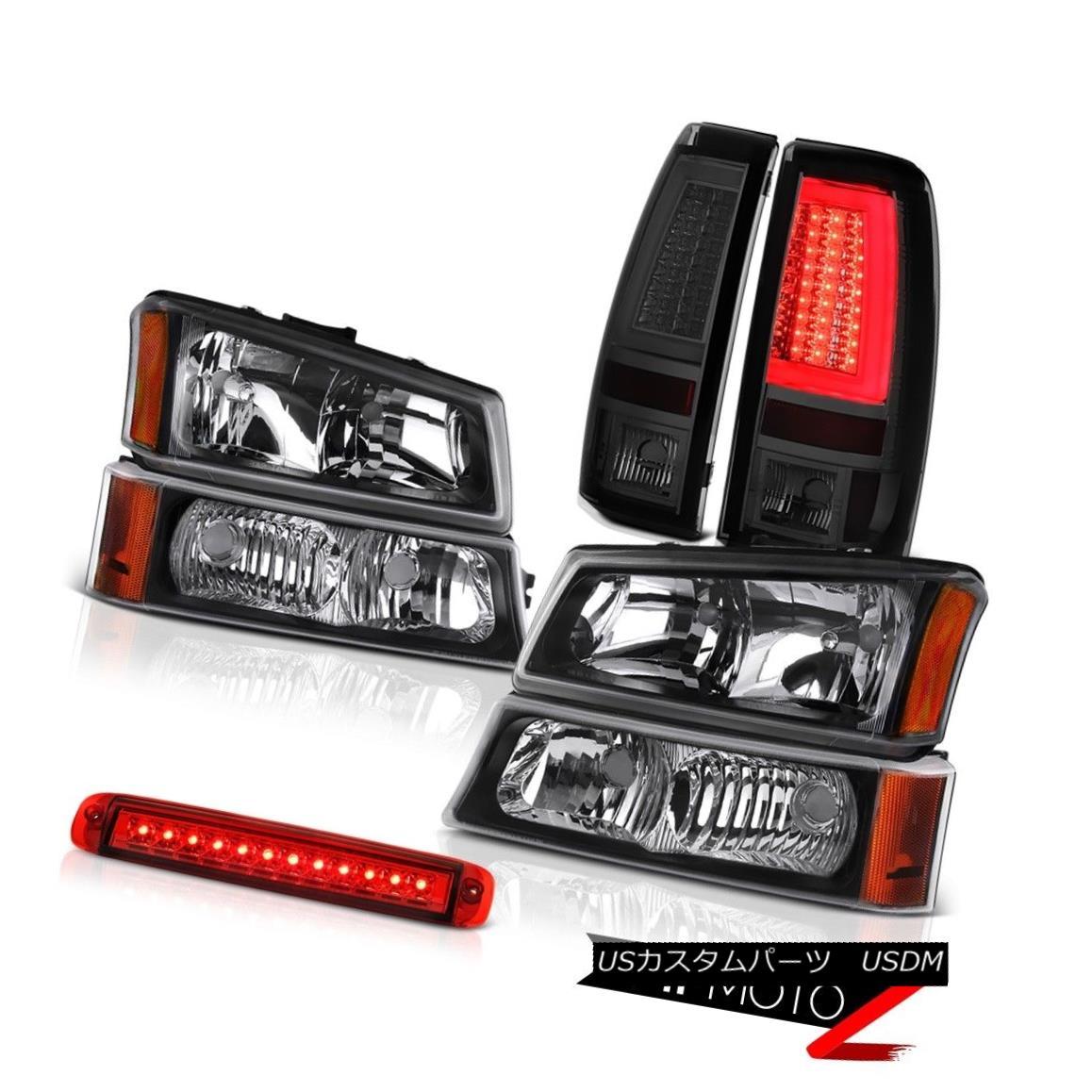 ヘッドライト 03-06 Silverado 1500 Taillamps Red Third Brake Lamp Headlamps Oe Style Assembly 03-06 Silverado 1500 Taillampsレッド第3ブレーキランプヘッドランプOeスタイルアセンブリ