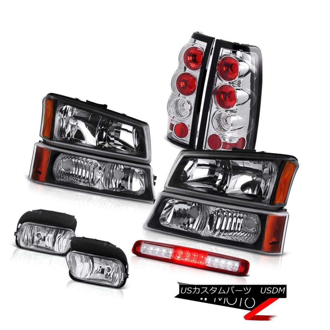 ヘッドライト 2003-2006 Silverado 1500 Fog Lights Bumper Lamp 3RD Brake Headlamps Rear Lamps 2003-2006 Silverado 1500フォグライトバンパーランプ3RDブレーキヘッドランプリア・ランプ