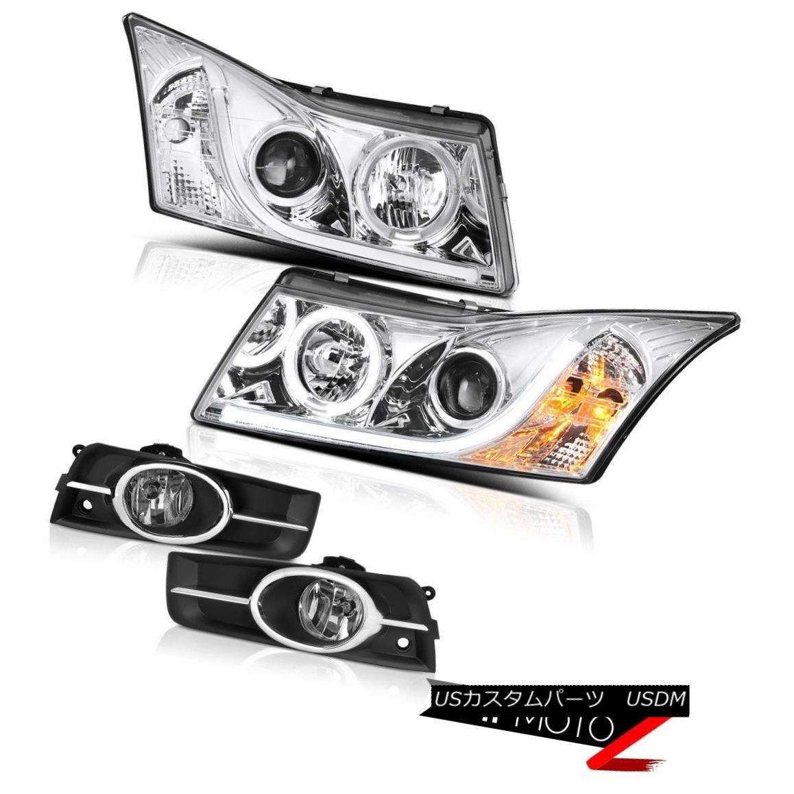 ヘッドライト 2011-2015 Chevy Cruze Euro Foglights Projector Headlights Tron Style Brightest 2011年-2015シボレークルーズユーロフォグライトプロジェクターヘッドライトトロンスタイル最も明るい