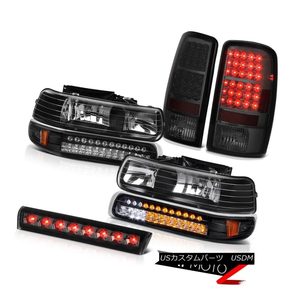 ヘッドライト 2001-2006 Suburban Z71 LED Bumper+Headlights Bulbs Tail Lights Roof Third Brake 2001-2006郊外Z71 LEDバンパー+ヘッドランプ hts球根テールライトルーフ第3ブレーキ