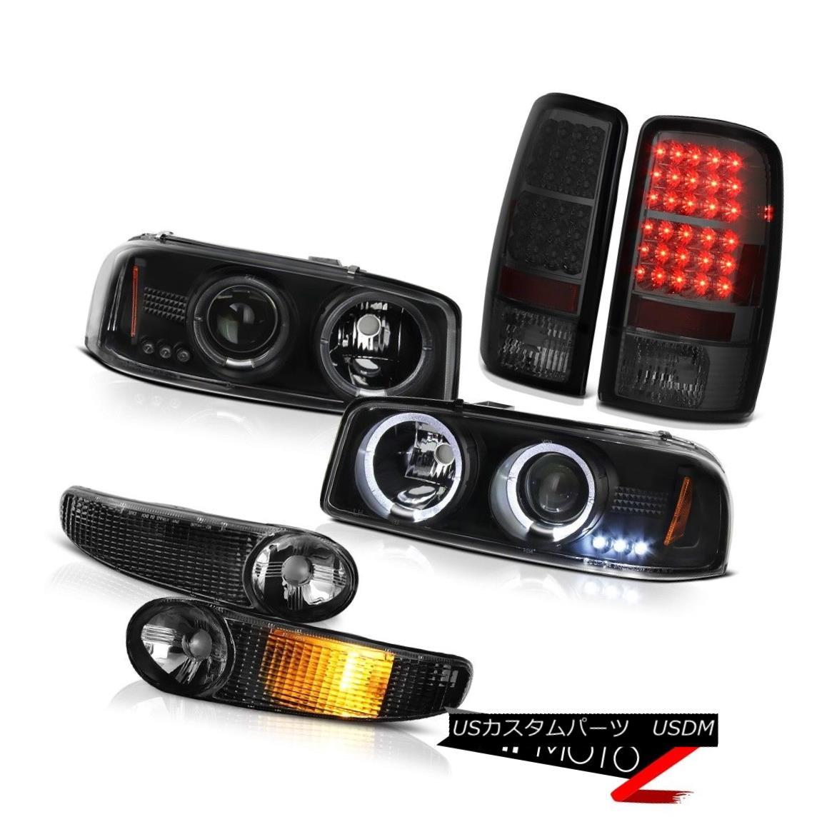 ヘッドライト 00 01 02 03 04 05 06 Yukon XL Projector Headlights Bumper Tail Lights LED Tinted 00 01 02 03 04 05 06ユーコンXLプロジェクターヘッドライトバンパーテールライトLED Tinted
