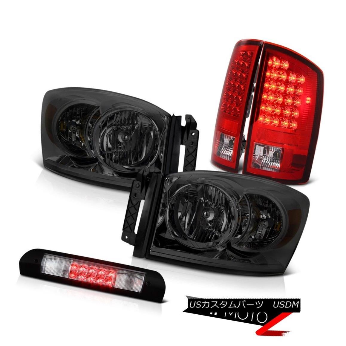 ヘッドライト 2006 Dodge Ram SLT Diamond Cut Headlights Bright Taillamps High Brake Cargo LED 2006ダッジ・ラムSLTダイヤモンド・カット・ヘッドライトブライト・タイルランプハイブレーキ・カーゴLED